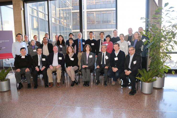 MTL's Industrial Advisory Board meets on the MIT campus on Jan. 31, 2018