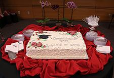 """Photo: A cake that reads """"Congratulations MTL Class of 2018!"""""""